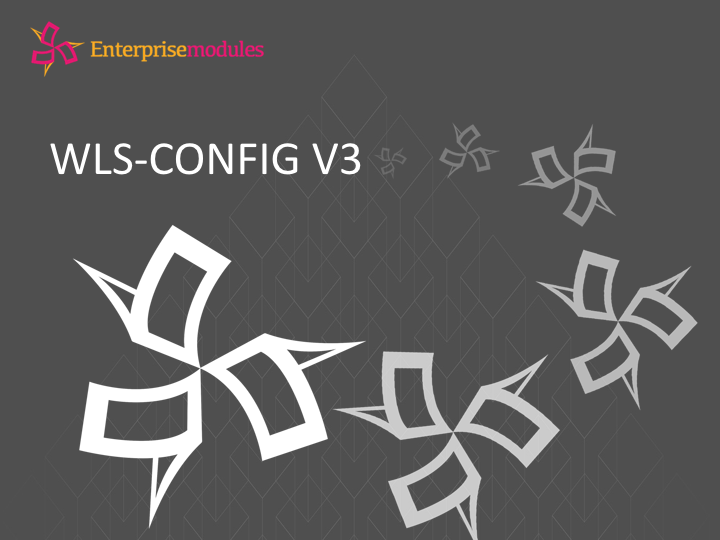 Introducing `wls-config` V3