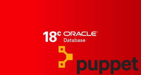 Our Oracle modules for Puppet now support Oracle 18c